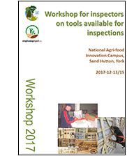 Workshop for inspectors